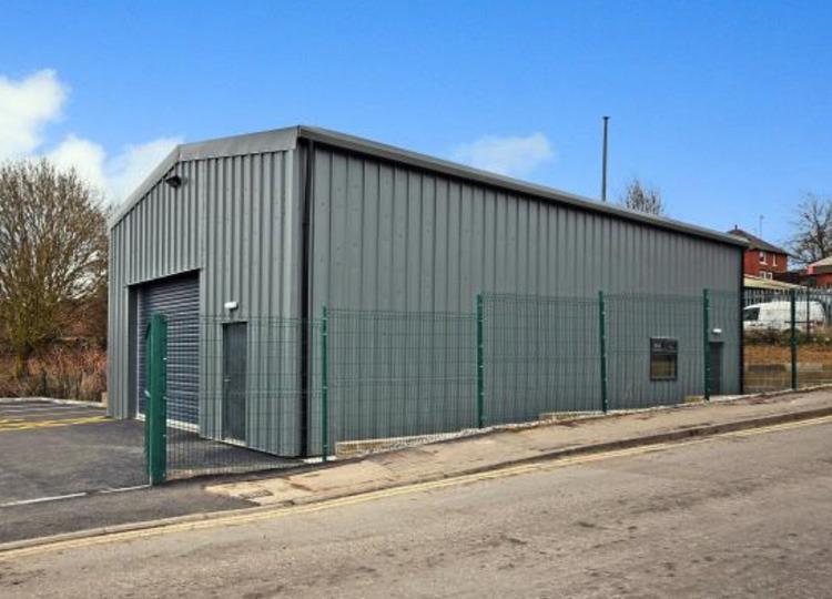 steel warehousing unit
